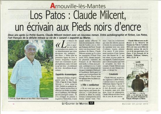 Claude milcent 7 2013